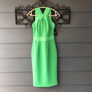 NWT NY&CO Green Dress S